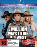 A Million Ways to Die in the West (Blu-ray/Ultraviolet) on Blu-ray
