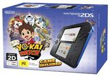 Nintendo 2DS Black/Blue Yo-Kai Watch Bundle for Nintendo 3DS