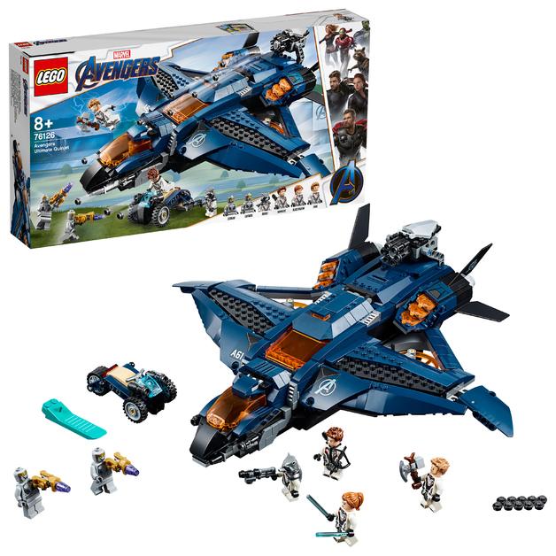 LEGO Super Heroes: Avengers - Ultimate Quinjet (76126)