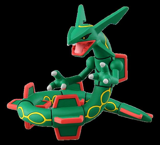 Pokemon: Moncolle: Rayquaza - PVC Figure
