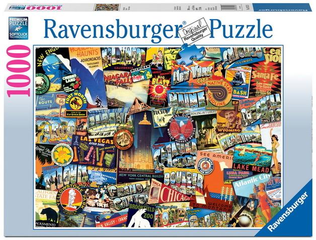 Ravensburger 1000 Piece Jigsaw Puzzle - Road Trip