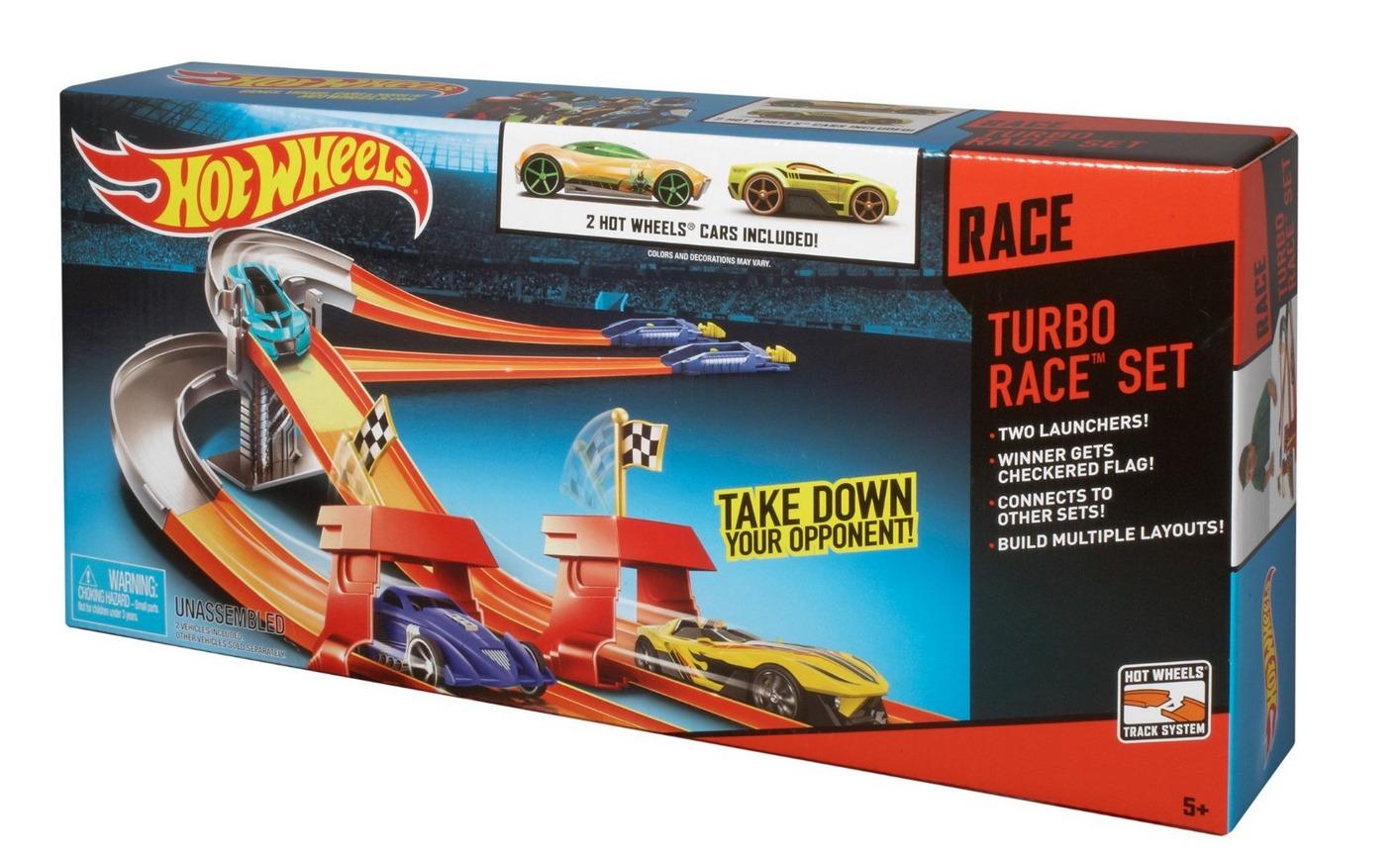 Hot Wheels Turbo Race Set image
