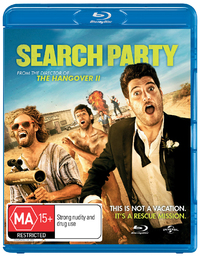 Search Party on Blu-ray, UV