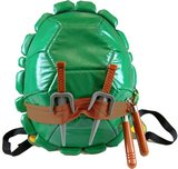 Teenage Mutant Ninja Turtles Shell Backpack with Toy Weapons and Masks