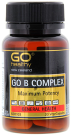 Go Healthy GO B Complex (30 Capsules)