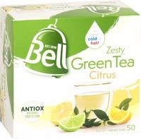 Bell Tea - Zesty Green Tea Bags Citrus (50 Bags)