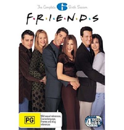 Friends - Season 6 on DVD image