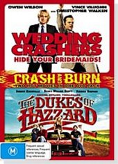 Crash And Burn Pack - Wedding Crashers / Dukes Of Hazzard (2 Disc Set) on DVD