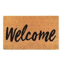 General Eclectic Doormat - Welcome