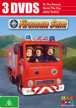 Fireman Sam - 3 DVDs (3 Disc Set) on DVD