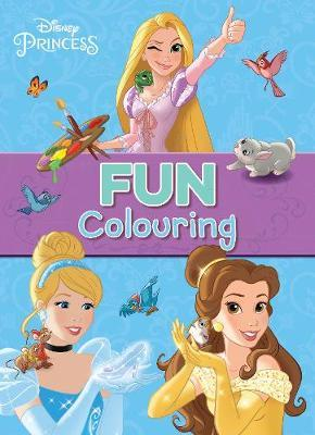 Disney Princess Fun Colouring by Parragon Books Ltd image