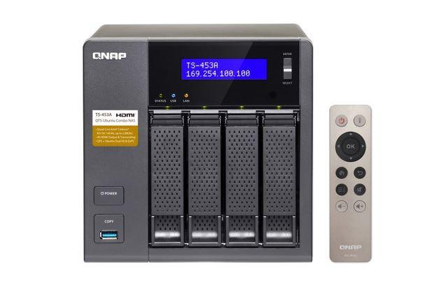 Qnap Ts-453A-4G, Nas, 4Bay (No Disk), 4Gb, Cel Qc-1.6Ghz, Usb, Gbe(4), Twr, 2Yr