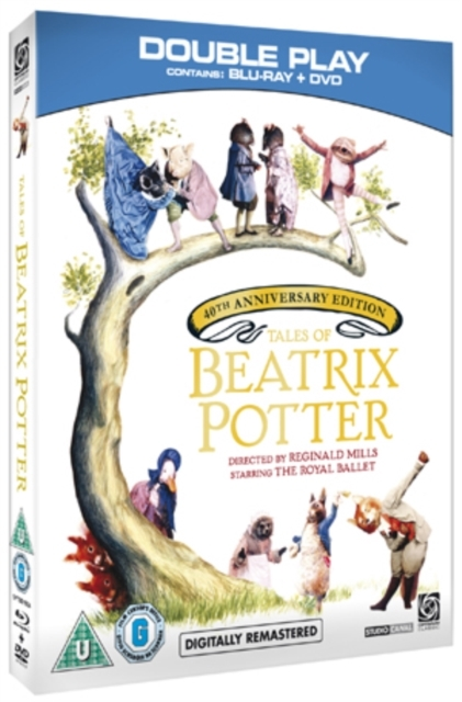 Tales Of Beatrix Potter - Double Play on DVD