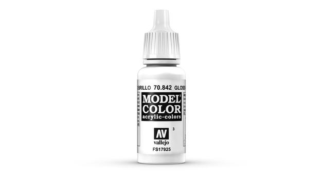 Vallejo Model Colour Glossy White 17ml