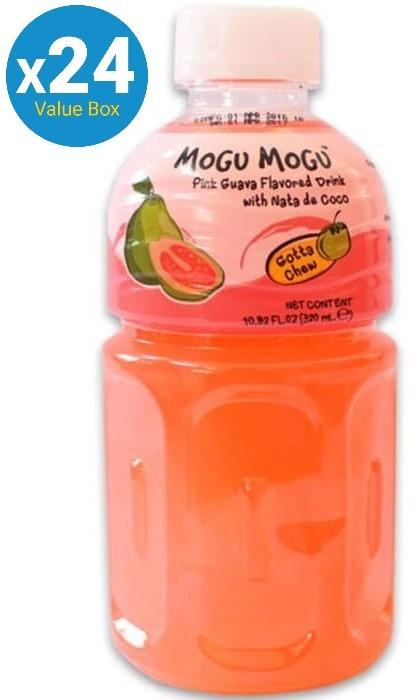 Mogu Mogu (Pink Guava) Drink 320ml - 24pk