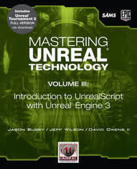 Mastering Unreal Technology: Introduction to UnrealScript with Unreal Engine 3: v. 3 by David Owens image