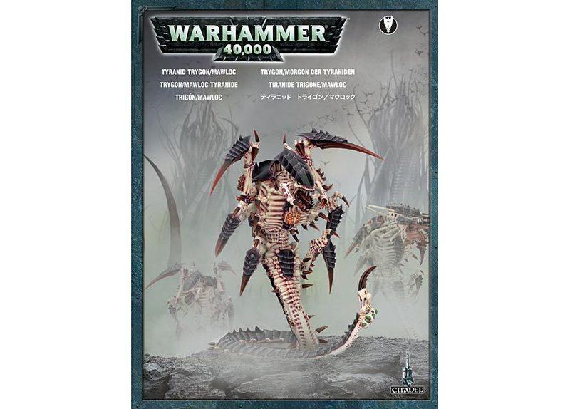 Warhammer 40,000 Tyranid Trygon / Mawloc image