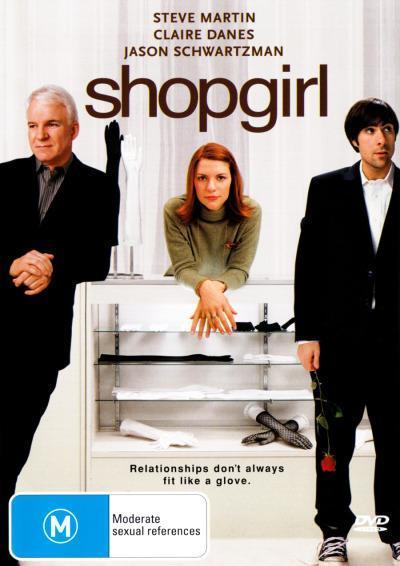 Shopgirl on DVD image