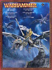 Warhammer High Elf Lord on Dragon