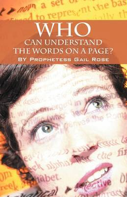 Who Can Understand the Words on a Page by Prophetess Gail Rose image