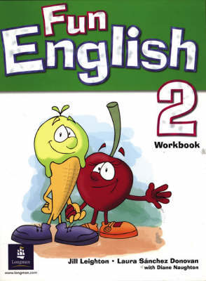 Fun English 2 Global Workbook by Jill Leighton image