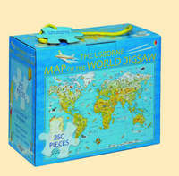Map of the World Boxed Jigsaw image