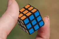 Worlds Smallest - Rubiks Cube image
