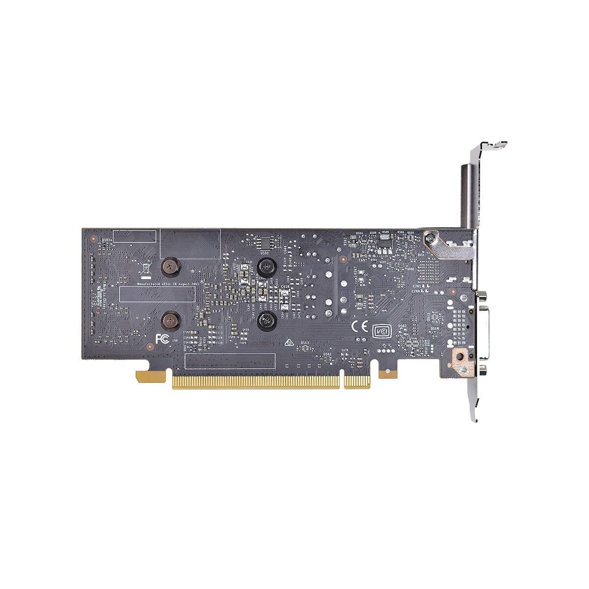 EVGA GeForce GT1030 2GB GDDR5 PCI-E 3.0 Video card , DVI+HDMI , Low Profile Support with Bracket image
