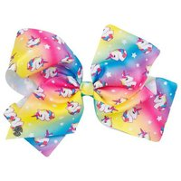 JoJo Siwa: Deluxe Large Unicorn Bow - Bright Rainbow