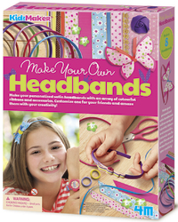 4M KidzMaker: Make Your Own - Hair Bands Kit
