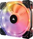 Corsair HD Series HD140 RGB LED 140mm High Performance RGB LED PWM - No Control