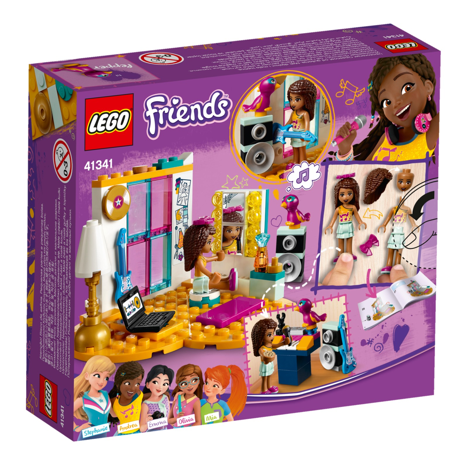 LEGO Friends - Andrea's Bedroom (41341) image