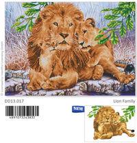 Diamond Dotz Lion Family