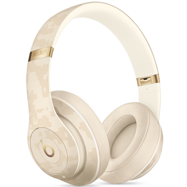 Beats Studio3 Wireless Noise Cancelling Over-Ear Headphones - Beats Camo Collection - Sand Dune