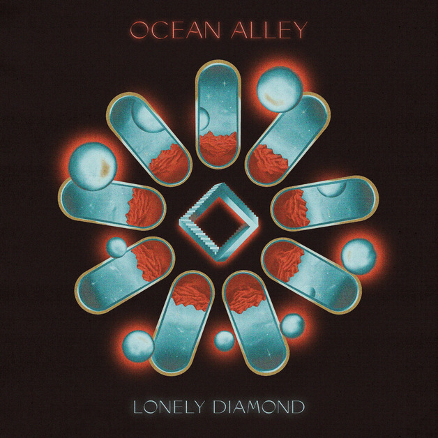 Lonely Diamond (Transparent Blue Vinyl) by Ocean Alley
