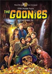 The Goonies on DVD