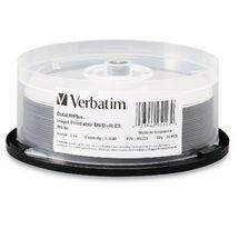 Verbatim DVD+R DL 8.5GB 20Pk Spindle White InkJet 2.4x image