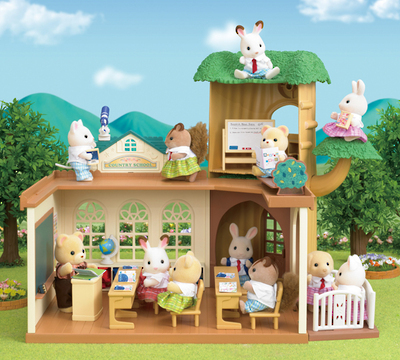Sylvanian Families: Country Tree School