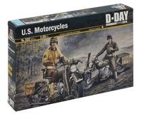 Italeri: 1:35 U.S. Motorcycles (WII) - Model Kit