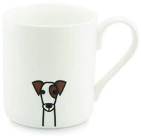 Tiny Grey Mug (Jack Russell)
