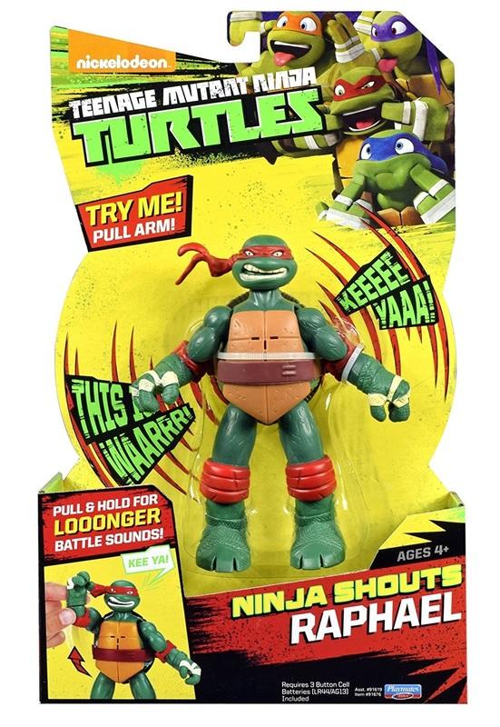 TMNT: Ninja Shouts Deluxe Figure - Raphael