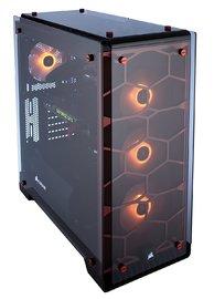 CORSAIR Crystal Series 570X RGB ATX Mid Tower Case Red