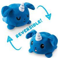 TeeTurtle: Reversible Mini Plush - Puppicorn (Blue)