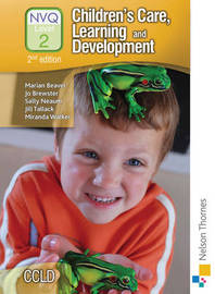 Children's Care, Learning and Development NVQ Level 2 Candidate Handbook by Marian Beaver image