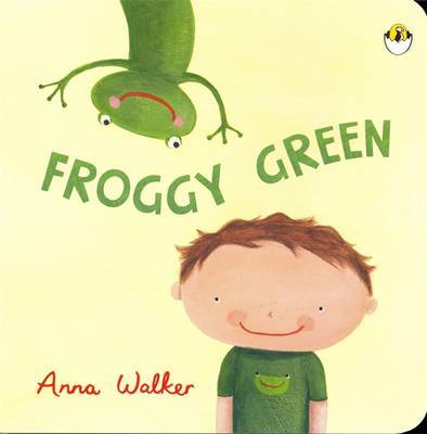 Froggy Green by Anna Walker image