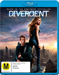 Divergent on Blu-ray