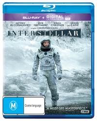 Interstellar (Blu-ray/Ultraviolet) on Blu-ray