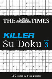 The Times Killer Su Doku 3 by The Times Mind Games image