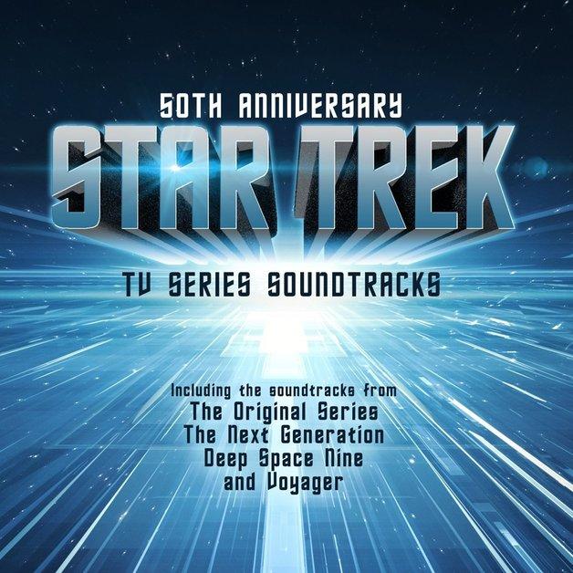 Star Trek - 50th Anniversary: TV Series Soundtrack (2LP) by Soundtrack / Various