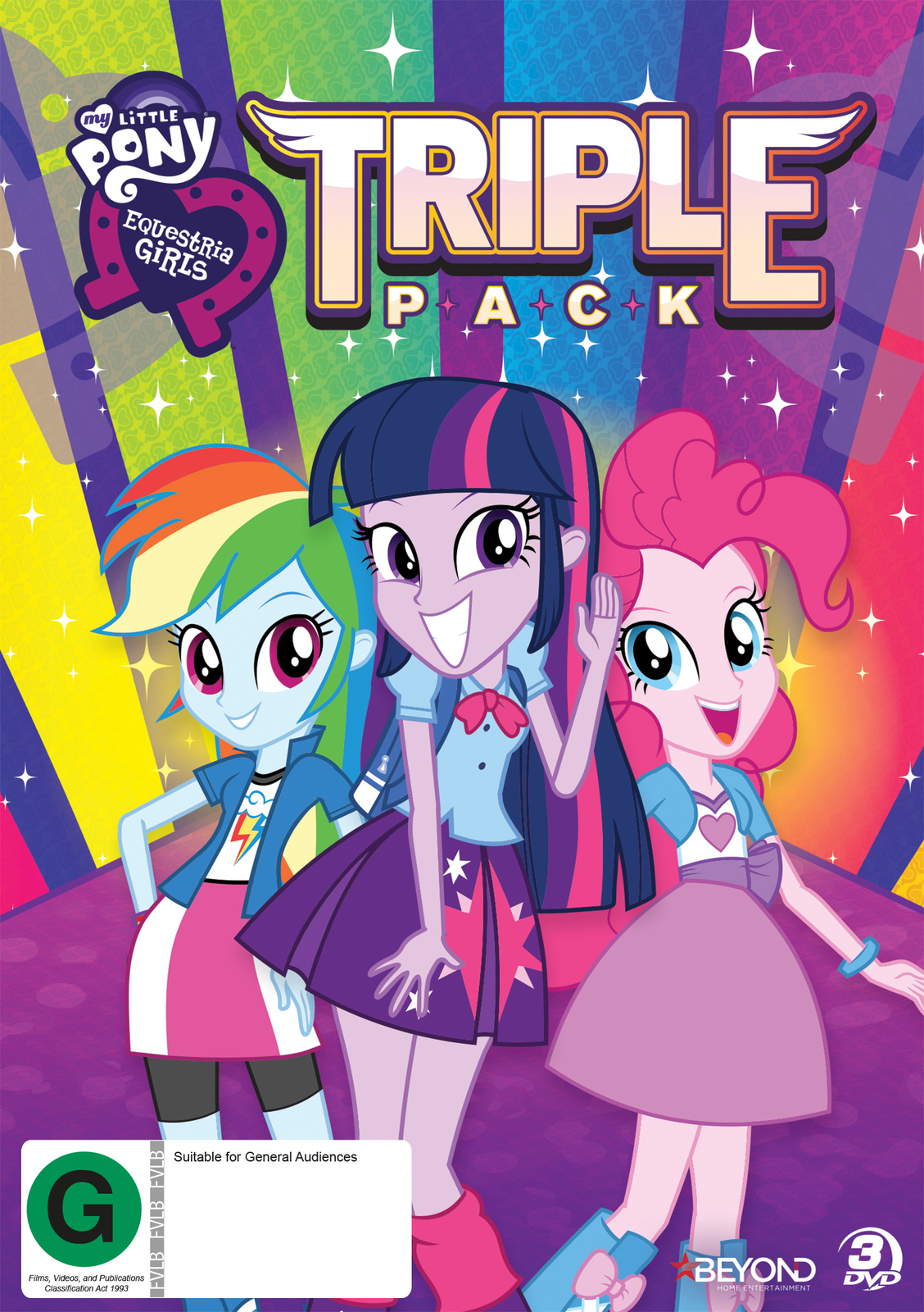 My Little Pony: Equestris Girls Triple Pack on DVD image